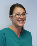 Caroline Blakeley, nurse at The Grove Veterinary Hospital and Clinics
