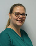 Heidi Clark, nurse at The Grove Veterinary Hospital and Clinics