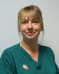 Helen Grimes, nurse at The Grove Veterinary Hospital and Clinics