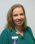 Emma Williams, nurse at The Grove Veterinary Hospital and Clinics